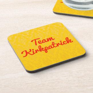 Team Kirkpatrick Beverage Coasters