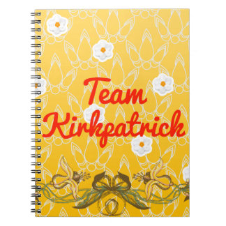 Team Kirkpatrick Spiral Notebook
