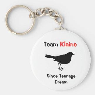 Team Klaine Keychain