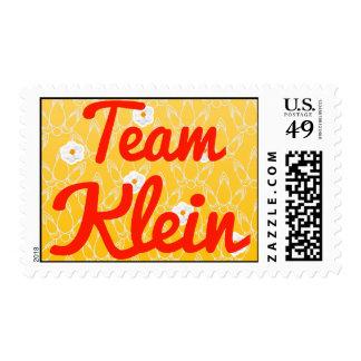Team Klein Postage Stamp