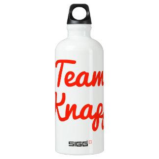 Team Knapp Aluminum Water Bottle