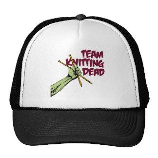 Team Knitting Dead Trucker Hat