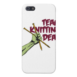 Team Knitting Dead iPhone 5 Cases