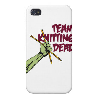 Team Knitting Dead iPhone 4 Covers