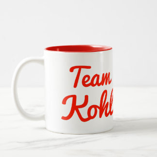 Team Kohl Coffee Mug
