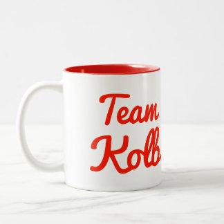Team Kolb Two-Tone Coffee Mug