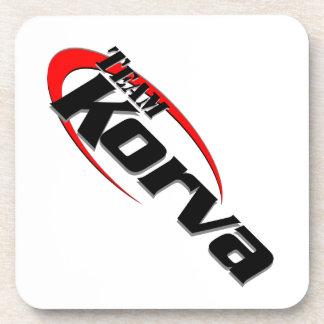 Team Korva Beverage Coasters