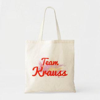 Team Krauss Canvas Bags