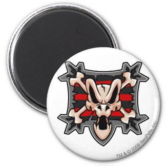 Team Krawk Island Logo 2 Inch Round Magnet