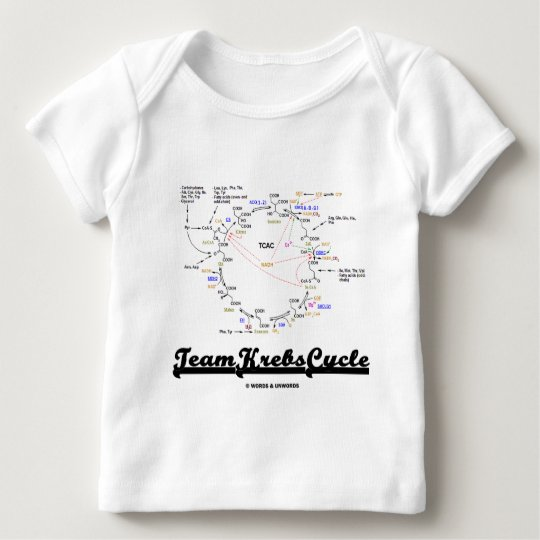 Team Krebs Cycle (Citric Acid Cycle - TCAC) Baby T-Shirt