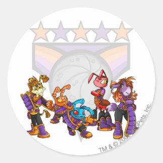 Team Kreludor Group Classic Round Sticker