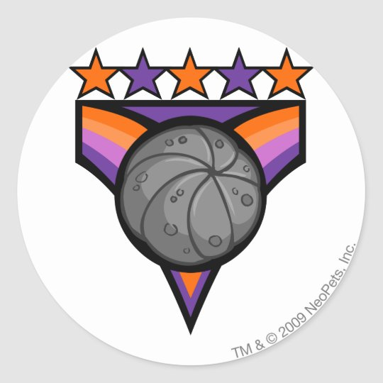 Team Kreludor Logo Classic Round Sticker