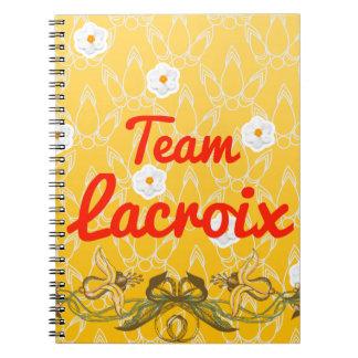 Team Lacroix Notebook