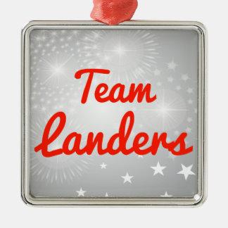 Team Landers Ornaments