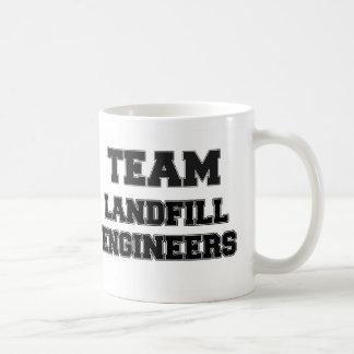 Team Landfill Engineers Classic White Coffee Mug