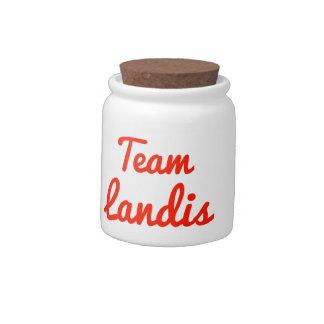 Team Landis Candy Jar