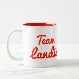 Team Landis Two-Tone Coffee Mug
