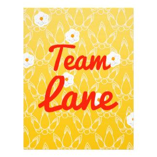 Team Lane Full Color Flyer