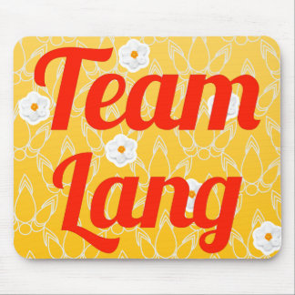 Team Lang Mouse Pads