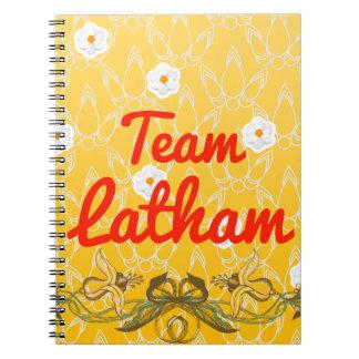 Team Latham Spiral Notebook