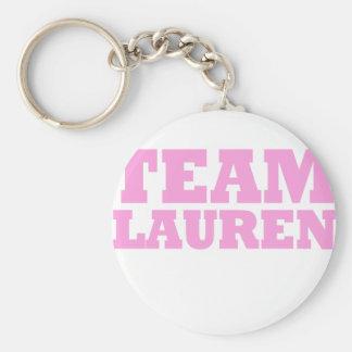 Team Lauren Keychain