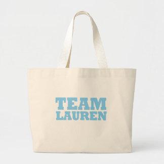 Team Lauren Large Tote Bag