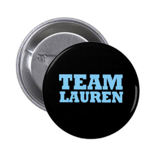 Team Lauren Pinback Button