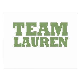 Team Lauren Postcard