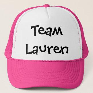 Team Lauren Trucker Hat