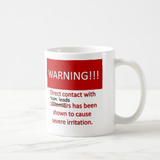 Team Lead Warning Coffee Mug