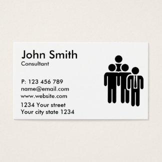 Team leader business card