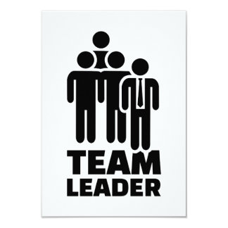 Team leader card
