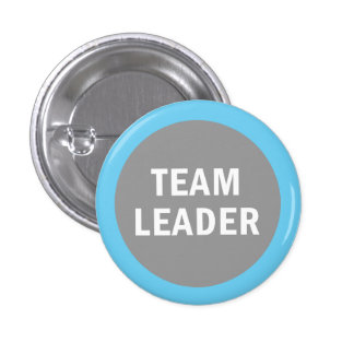 Team Leader identification badge Button