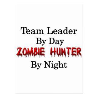 Team Leader/Zombie Hunter Postcard