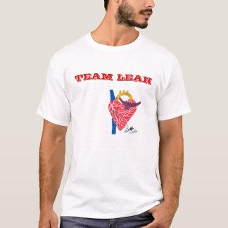 Team Leah Man's White white T-Shirt