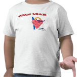 Team Leah Toddler's White Shirt