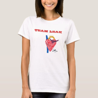 Team Leah Woman's White white T-Shirt