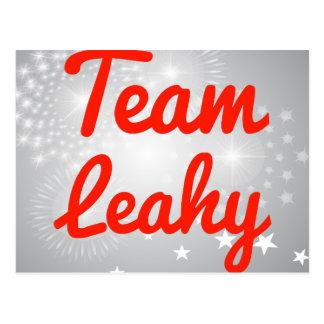 Team Leahy Post Card