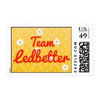 Team Ledbetter Postage Stamps