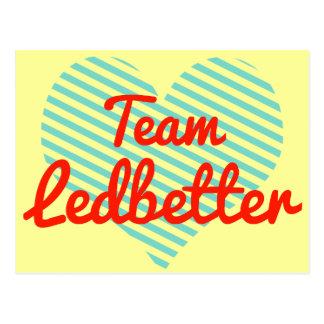 Team Ledbetter Postcard