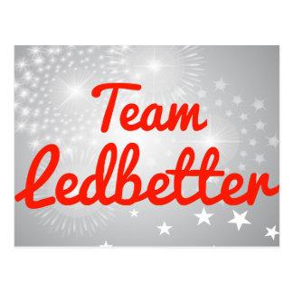 Team Ledbetter Postcards