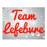 Team Lefebvre Post Cards