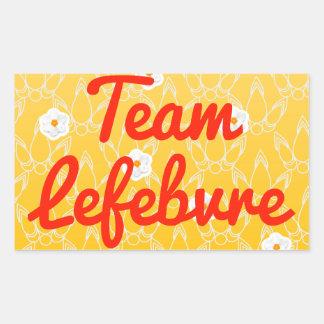 Team Lefebvre Sticker