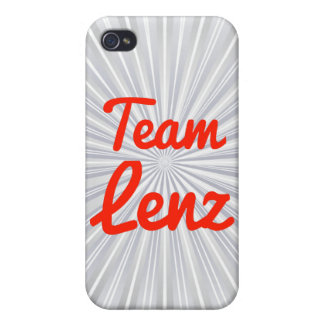 Team Lenz iPhone 4 Covers