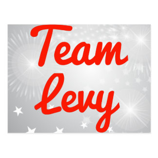 Team Levy Post Cards