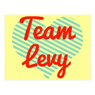 Team Levy Post Card