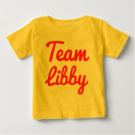 Team Libby T-shirts