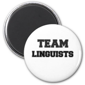 Team Linguists Magnet