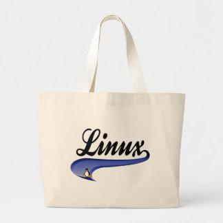 Team Linux Jumbo Tote Bag
