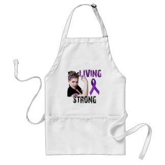 Team Living Strong Adult Apron